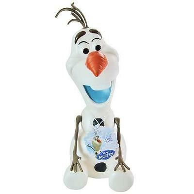 Olaf Coin Bank Frozen Disney Savings Snowman Carrot Nose Movie Character New