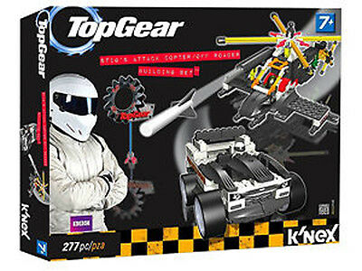 *NEW* Top Gear K'nex - Stig's Attack Copter Off Roader Building Set - 277 pieces