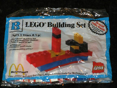 McDonalds Lego Building Set B MIP 1990 - Still Sealed Happy Meal toy vintage