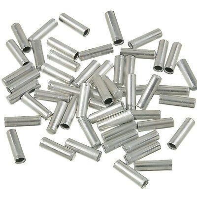 100pcs Shifter Brake Gear Inner Cable Tips Ends Caps Crimp Ferrule Bike Bicycle