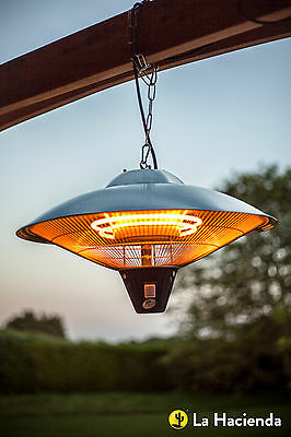 La Hacienda CE09 Hanging Halogen Patio Heater