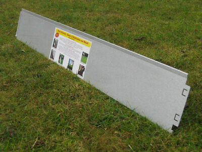 10 meter Garden Edging Border Metal with Click-Fix-System
