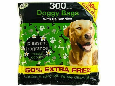 My Choice 100 Large Pet Dog Poop Waste Poo Bags Thick Cat Scented Doggy Bags New