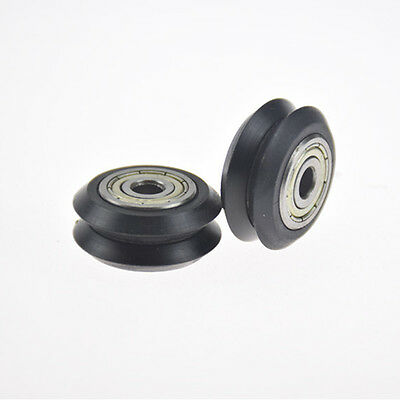 Wheel Dual V Idler Pulley Linear Extrusion sheave Ball BearingFor 3D Printer CNC