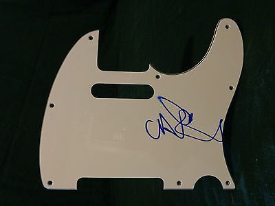 Chris Martin COLDPLAY Signed Autographed Pickguard