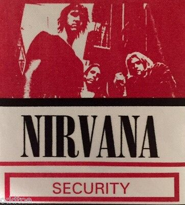 Nirvana Security Backstage Pass - Hard To Find