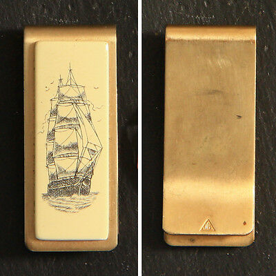 """Vintage """"The Nonsuch"""" Manitoba Museum (of Man and Nature) collectible money clip"""
