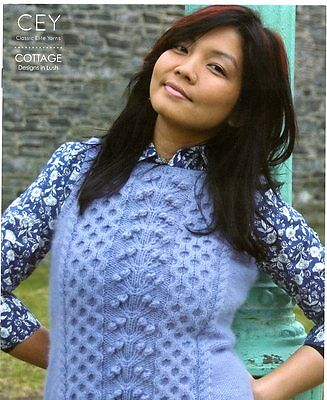 Cey Atelier Classic Elite Yarns Knitting Pattern Book 9154 4 Designs