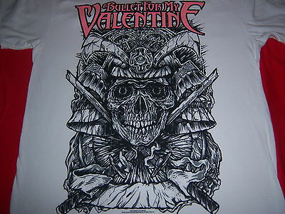 2010 licensed BULLET FOR MY VALENTINE t shirt -- heavy metal -- LOOKS NEW -- (L)