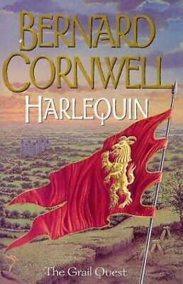 The Grail Quest (1) - Harlequin, Cornwell, Bernard Hardback Book The Cheap Fast