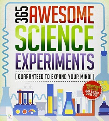 365 Awesome Science Experiments Book The Cheap Fast Free Post