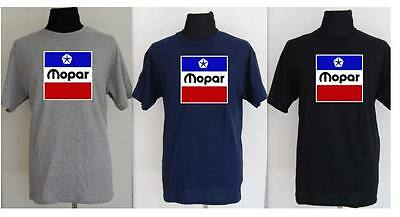 MOPAR LOGO, dodge, valiant, retro drag strip tee