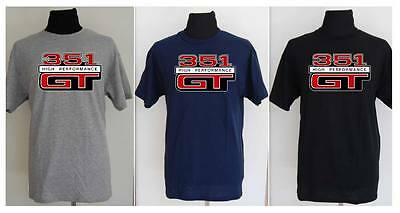 FORD 351 GT  V8 T-SHIRT- S to 5XL drag strip, classic logo