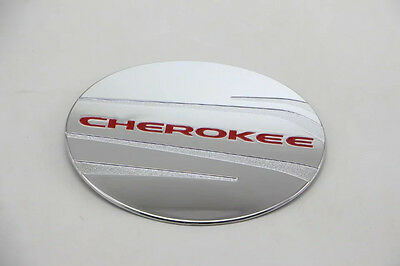 RED Oil Tank Cap Lid Cover FOR 2014-2018 Jeep Cherokee Gasoline Cover Trims