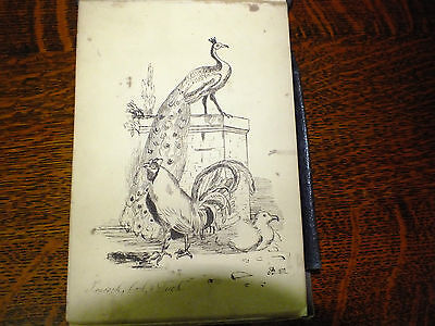 19th century sketch book Found on Battlefield Reims 1917