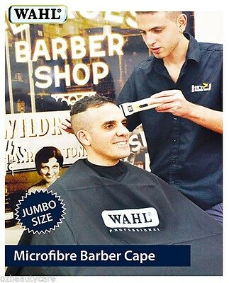 Wahl Jumbo Size Microfiber Cutting Hairdressing/Barber/Salon Cape Waterproof