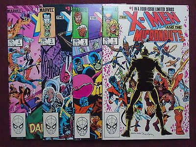 X-Men and the Micronauts (1984), SET #1-4, New/NM