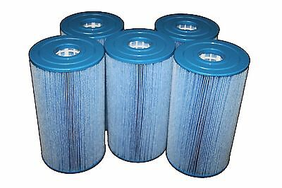 Closeout 5 Pack Spa Filter Fits:c-6430 C-6430Ra Pwk-30-M Antimicrobial Microban