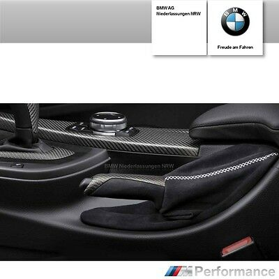 Original BMW 3er 4er M-Performance Handbremsgriff Alcantara Handbremshebel
