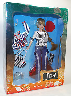 Jun Planning J-Doll MARCHE X-124 Fashion Poseable Pullip Collection Doll