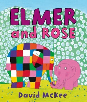Elmer and Rose, McKee, David Paperback Book The Cheap Fast Free Post