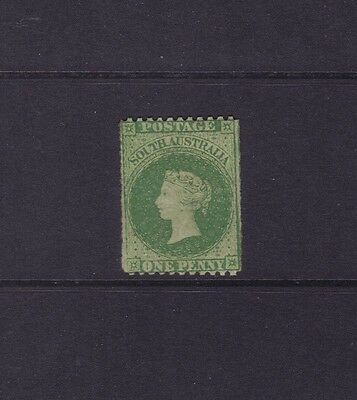 SA Sg 50,Sc#29a; 1867-70 1d Pale bright green PERF 11½-12½ x ROULETTE,MINT.£375
