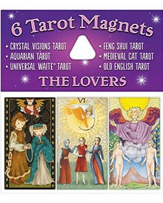 NEW 6 Tarot Magnets The Lovers