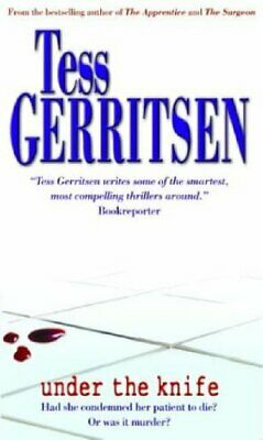 Under The Knife (MIRA) by Gerritsen, Tess Paperback Book The Cheap Fast Free