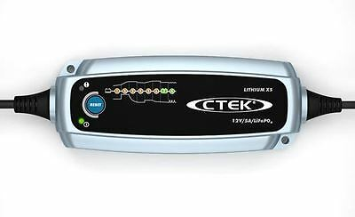 CTEK Lithium XS 12v 5A Smart Chargeur De Batterie Pour LiFePO4 Batteries 8 Scène