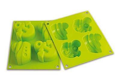 SILIKOMART BABY LINE STAMPO FORMA SILICONE FORNO HAPPY SUMMER DOLCI HSF 07 mshop