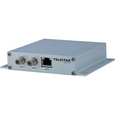 Telestar Digibit Twin Sat-Verteilung Sat-To-Ip Hdtv Transmitter Satelliten-Ip