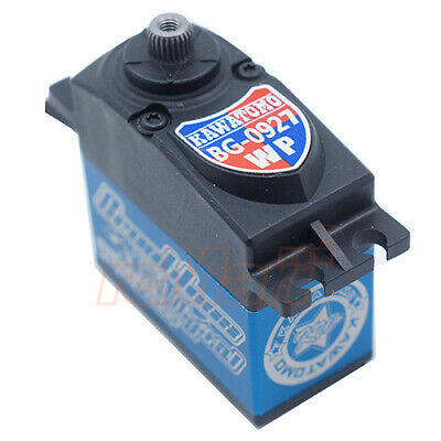 Blue Bird KAWATOMO Aluminum Waterproof Wide Voltage Brushless Servo #BG-0627WP