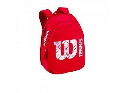 Wilson Match Junior Backpack red 29x13x38cm