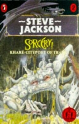 Sorcery 2: Khare- Cityport of Traps (Puffin Adven... by Steve, Jackson Paperback