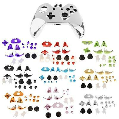 Full Housing Shell Case + Button Parts Kits Replace for Xbox One Game Controller