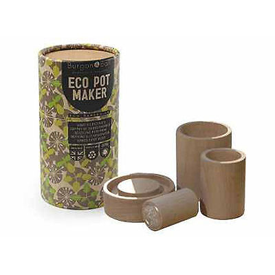 Eco Seedling Pot Makers for Gardeners by Burgon & Ball