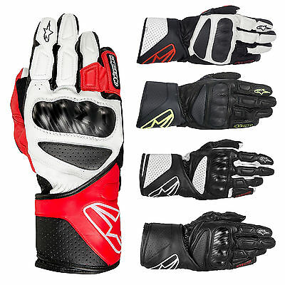 Alpinestars SP-8 SP8 Leather Motorbike Motorcycle Gloves | All Colours & Sizes