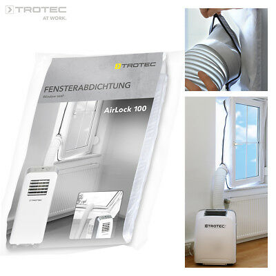 TROTEC AirLock 100 HotAirStop window seal for air conditioners tumble drye