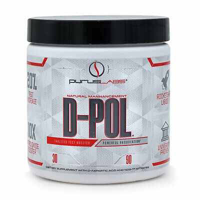 Purus Labs D-Pol  90 Capsules Lean Muscle and Bodybuilding Supplement