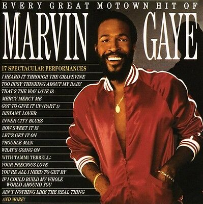 Marvin Gaye - Every Great Motown Hit of Marvin Gaye [New CD] Rmst