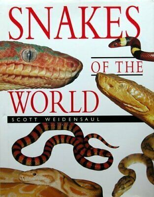 Snakes of the World by Weidensaul, Scott Paperback Book The Cheap Fast Free Post
