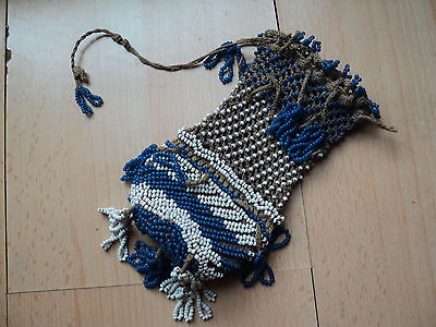 Very Rare Old Antique Ottoman/Turkey PURSE with beads