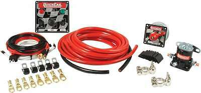 QuickCar Racing 50-231 Late Model 4 Gauge Battery Switch Solenoid Wiring Kit