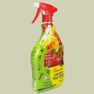 Bayer Provado Ultimate Bug Killer 1lt RTU Bug Gun Garden Pest Control