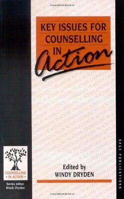 Key Issues for Counselling in Action (Counselling in Action se... Paperback Book