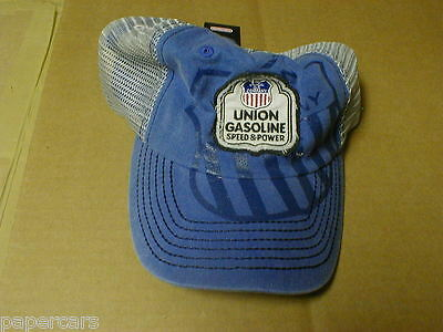 union oil gas gasoline station distress mesh new snapback hat conoco phillips