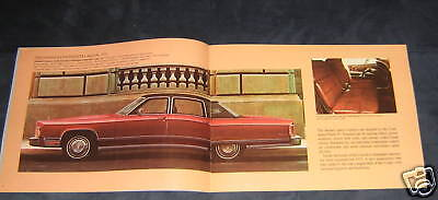 """1975 Lincoln Continentals Sale Brochure 24 pages 9"""" by 12"""" wide"""