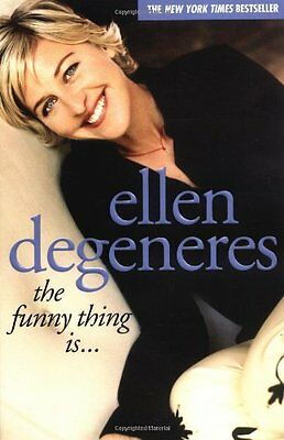 The Funny Thing Is..., DeGeneres, Ellen Paperback Book The Cheap Fast Free Post