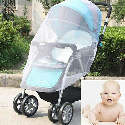 Sale Baby Stroller Mosquito Insect Net Infant Protection Mesh Stroller Accessory