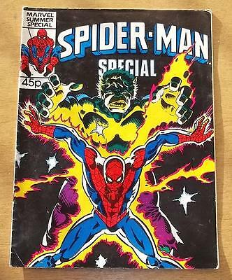 Spiderman British Weekly Summer Special June 1986 Marvel